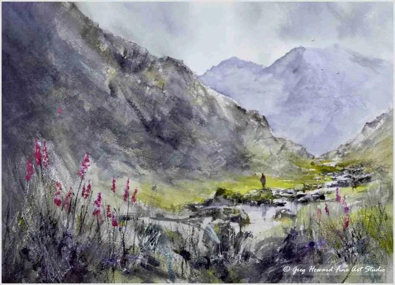 Foxgloves In Langstrath Valley IV