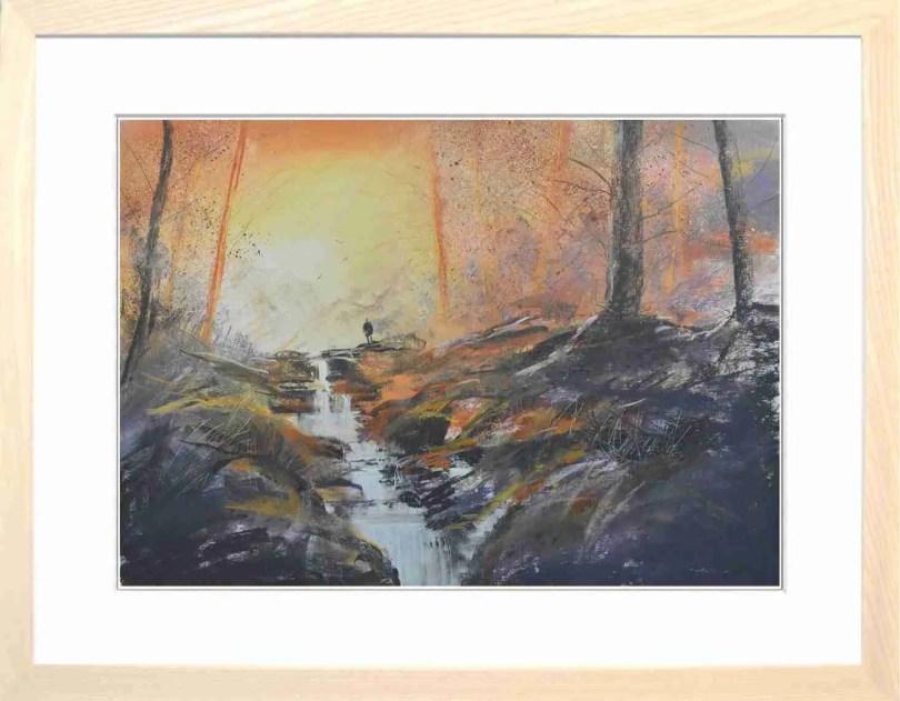 Framed Painting Autumn I