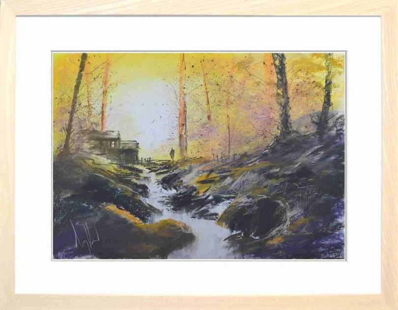Framed Painting Autumn II