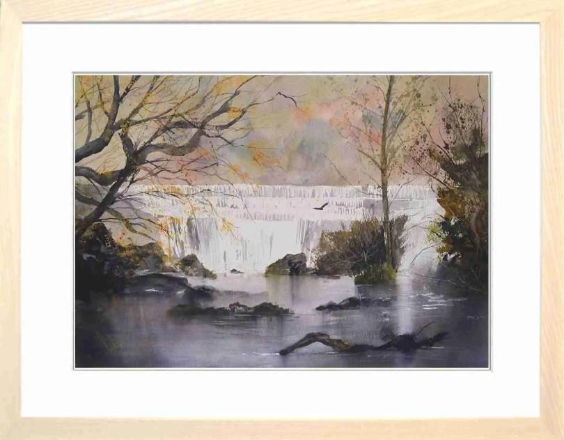 Framed Painting Autumn At Monsal Head