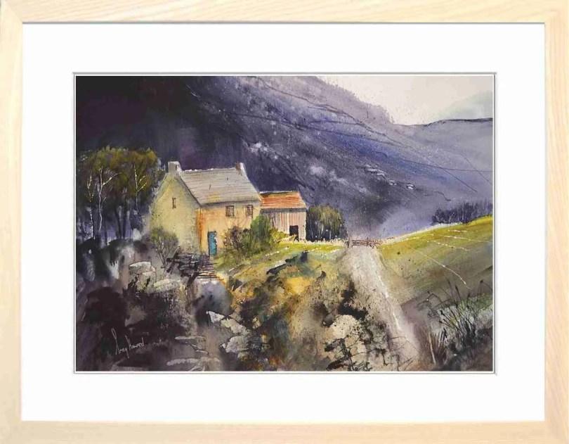 Framed Painting Black Hill Farm