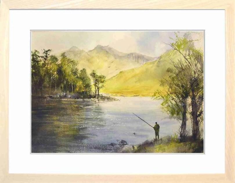 Framed Painting Blea Tarn III