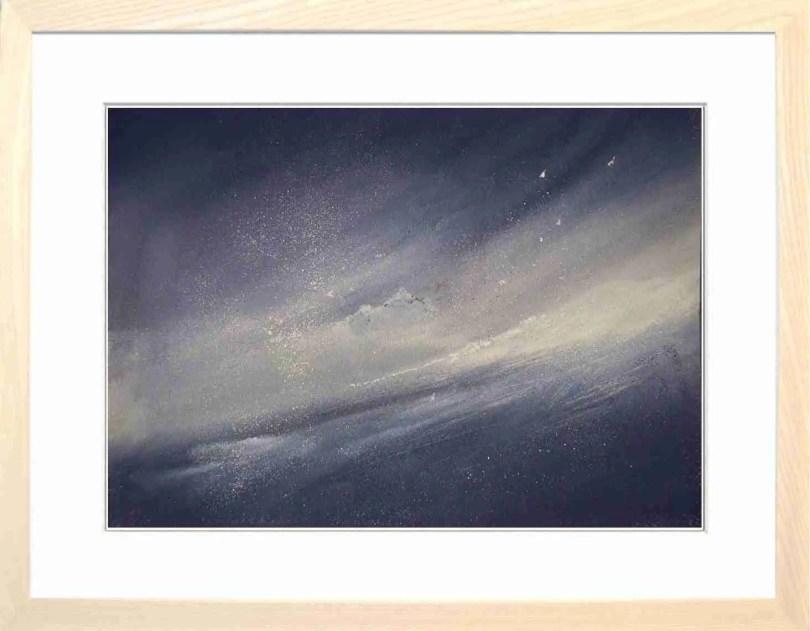 Framed Painting Blizzard