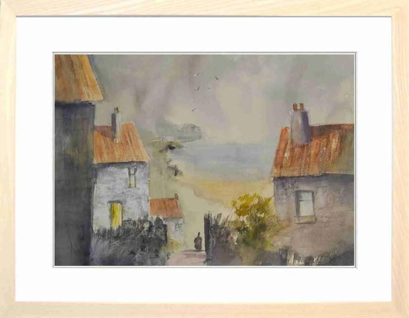 Framed Painting East Coast