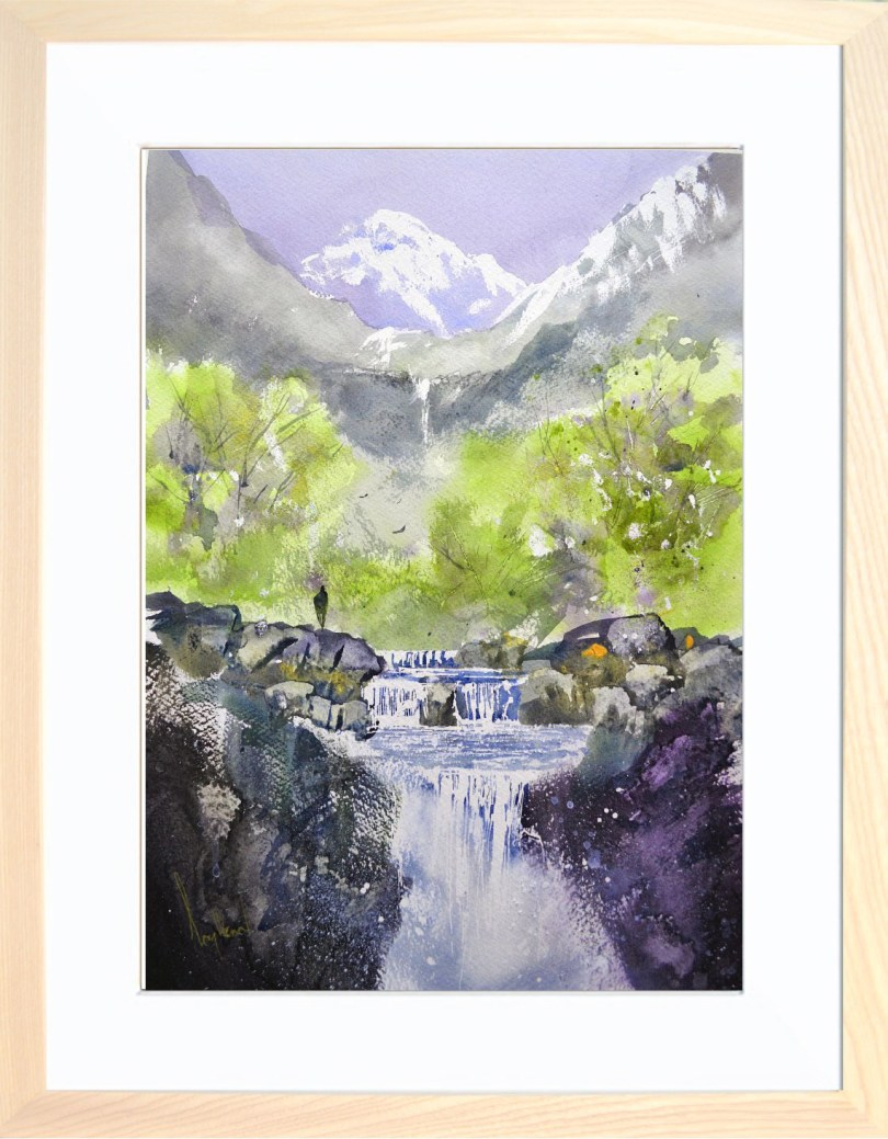 Framed Painting Ghyll IX