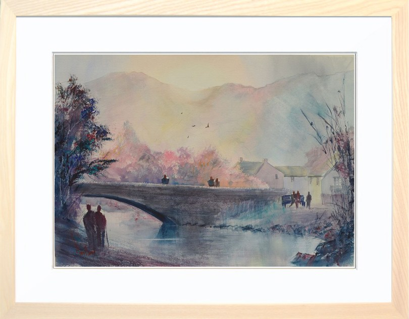 Framed Painting Grange In Borrowdale VII