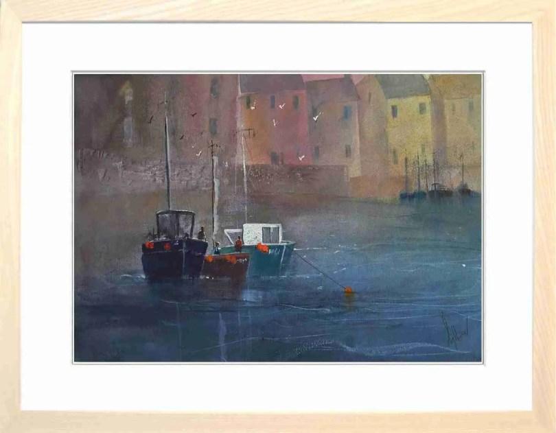 Framed Painting Harbours I