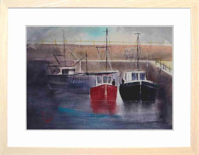Framed Painting Harbours V