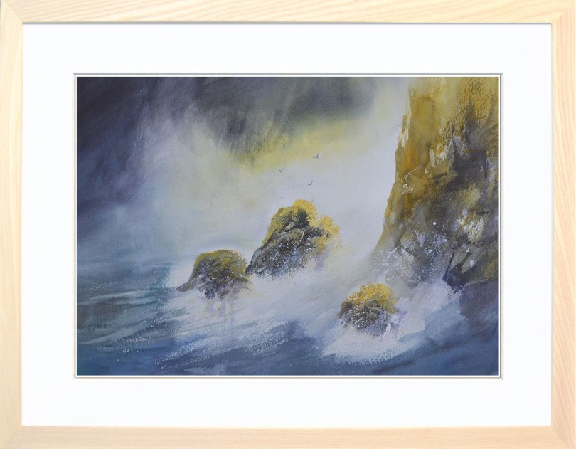 Framed Painting Peninsula V