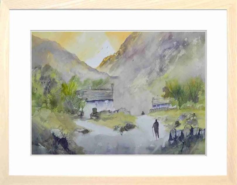 Framed Painting Quick Wander Before Dinner
