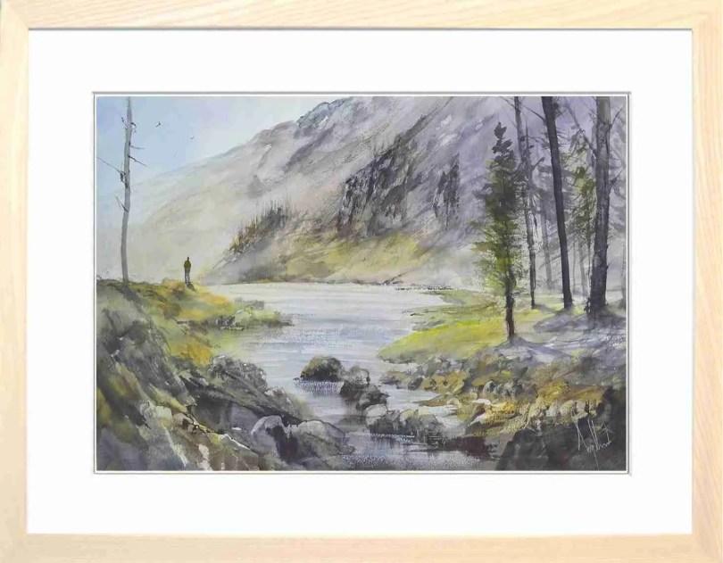 Framed Painting Solitude IV