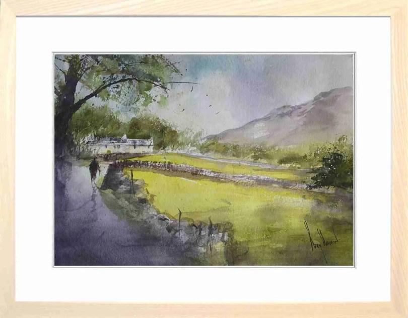 Framed Painting Summer Stroll II