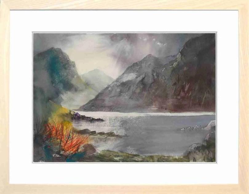 Framed Painting Wasdale Cumbria V
