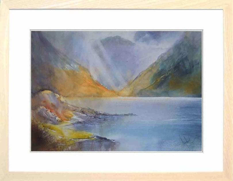 Framed Painting Wasdale Cumbria VII