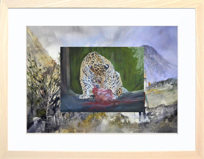Framed Painting Wild Thing