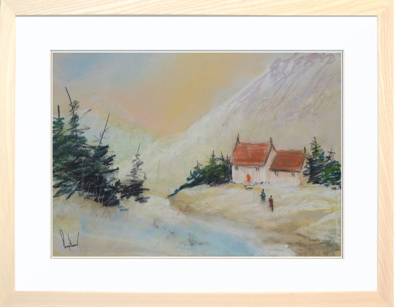 Framed Painting Winter Colours II