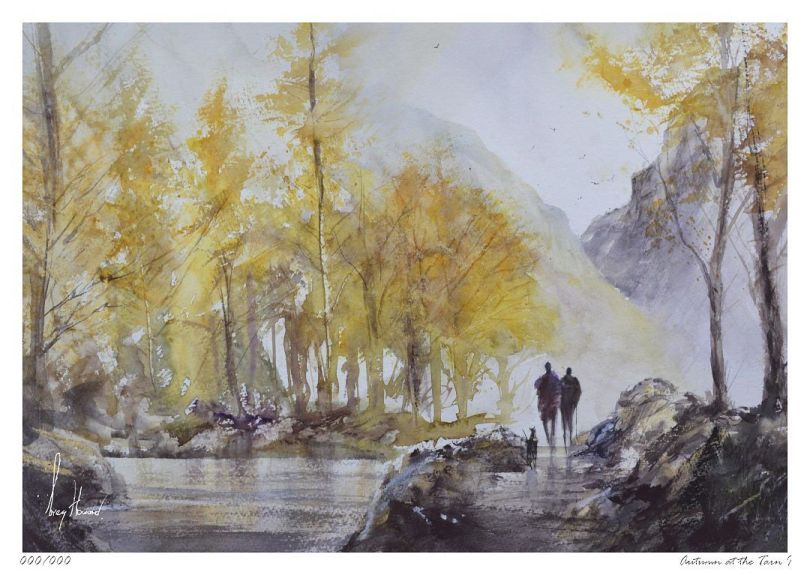 Limited Edition Print Autumn At The Tarn I