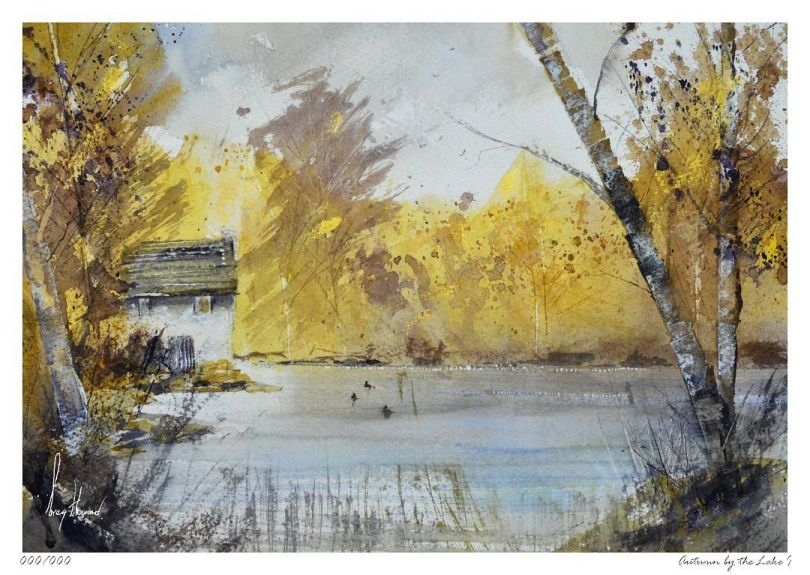 Limited Edition Print Autumn By The Lake I