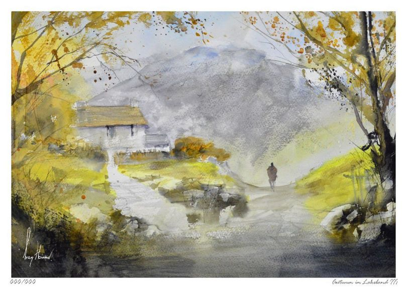 Limited Edition Print Autumn In Lakeland III