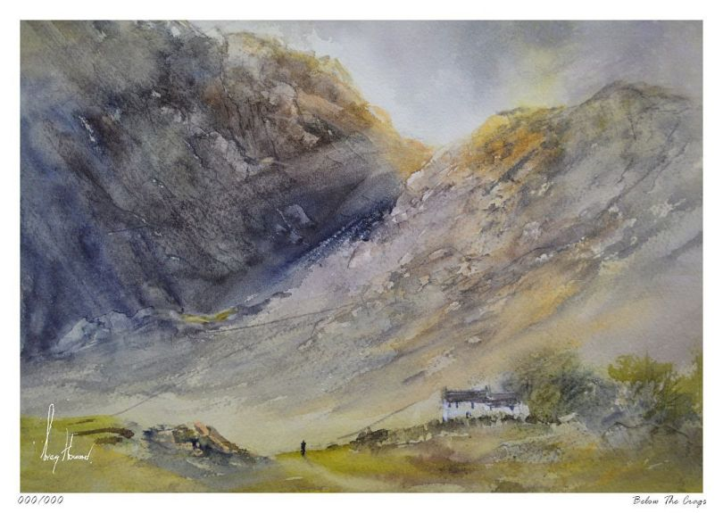 Limited Edition Print Below The Crags