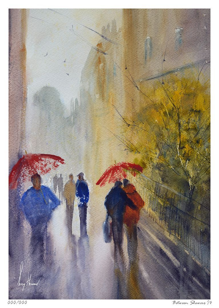 Limited Edition Print Between Showers IV