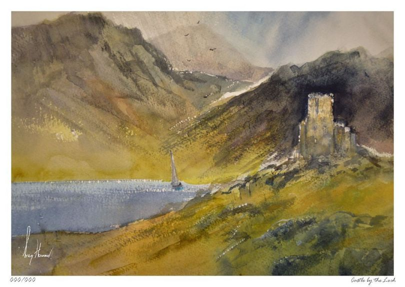Limited Edition Print Castle By The Loch