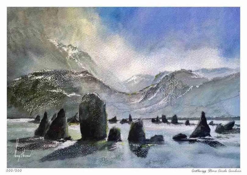 Limited Edition Print Castlerigg Stone Circle Cumbria