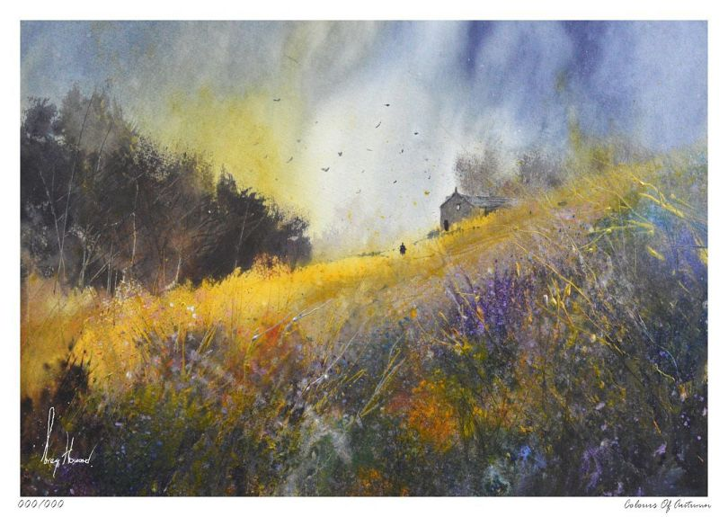 Limited Edition Print Colours Of Autumn