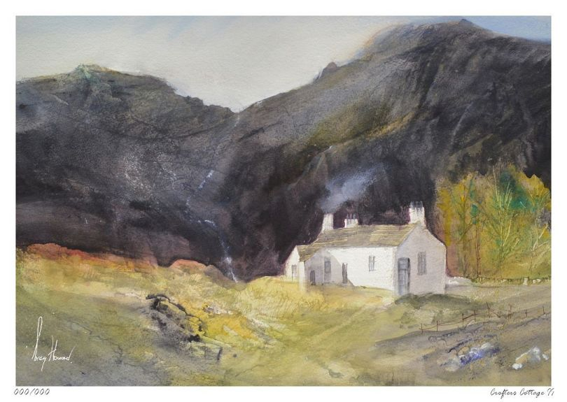 Limited Edition Print Crofters Cottage II