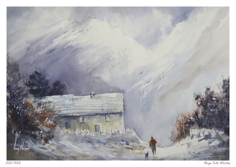 Limited Edition Print Deep Into Winter