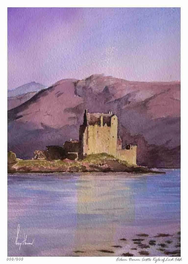 Limited Edition Print Eilean Donan Castle Kyle Of Loch Alsh