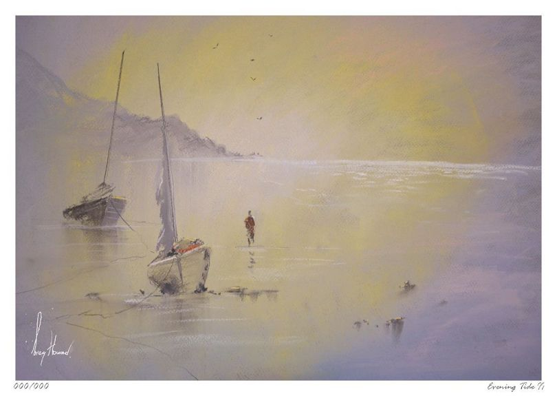 Limited Edition Print Evening Tide II