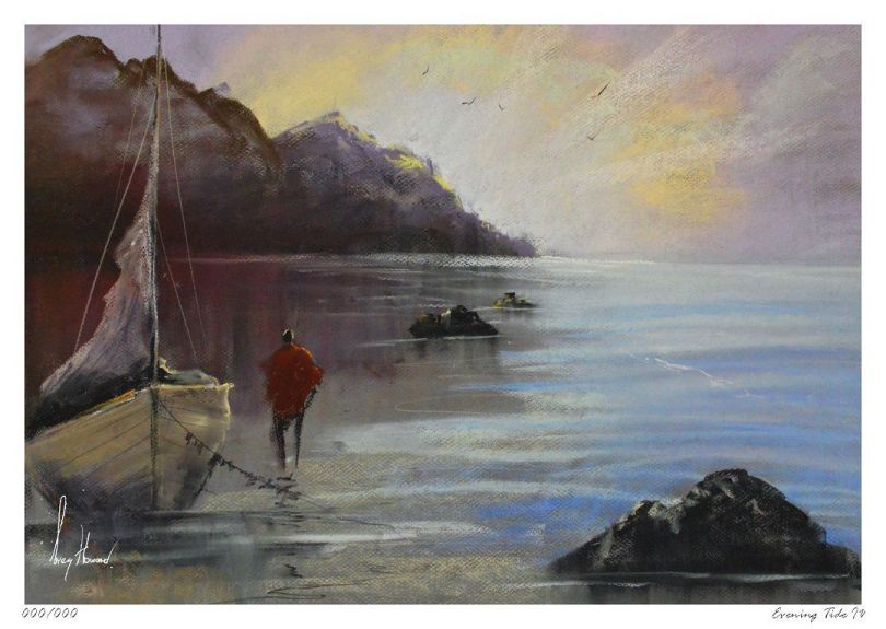 Limited Edition Print Evening Tide IV