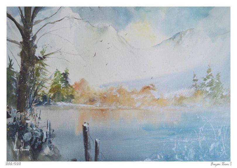Limited Edition Print Frozen Tarn I