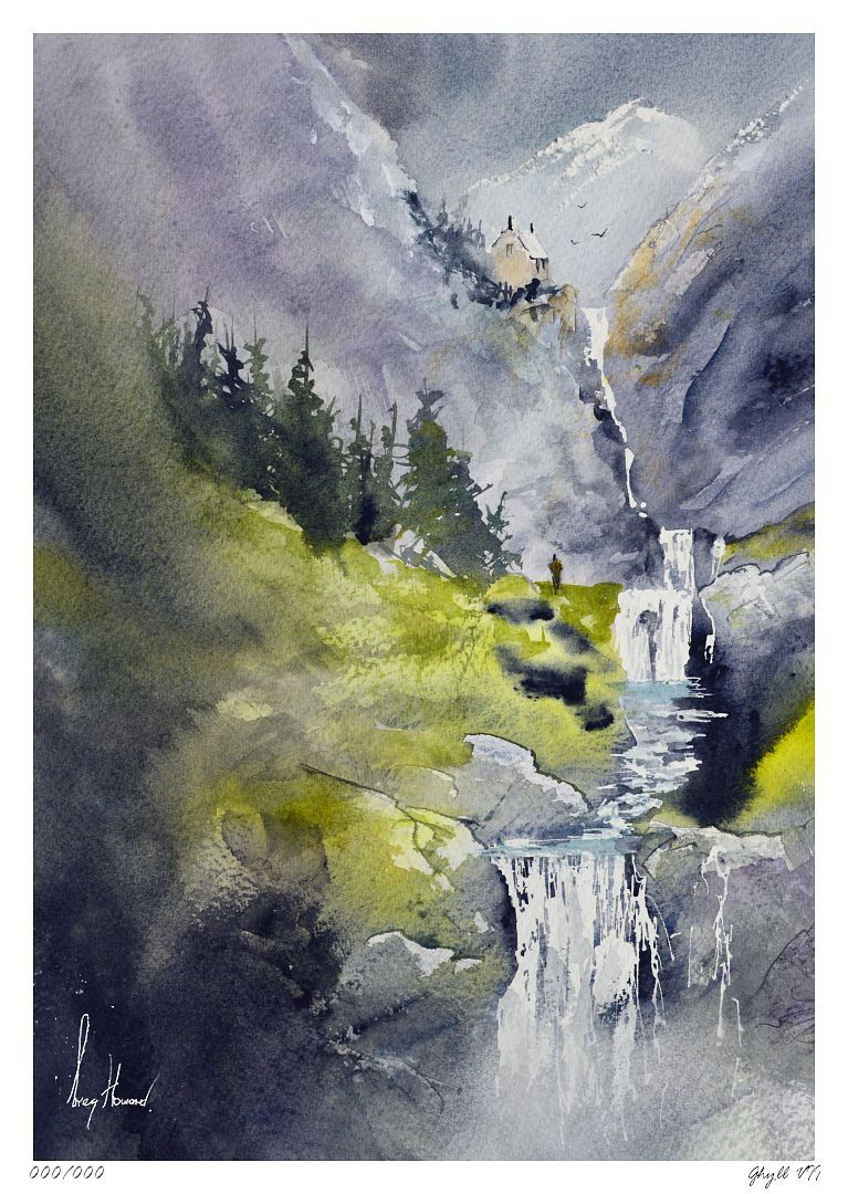 Limited Edition Print Ghyll VII