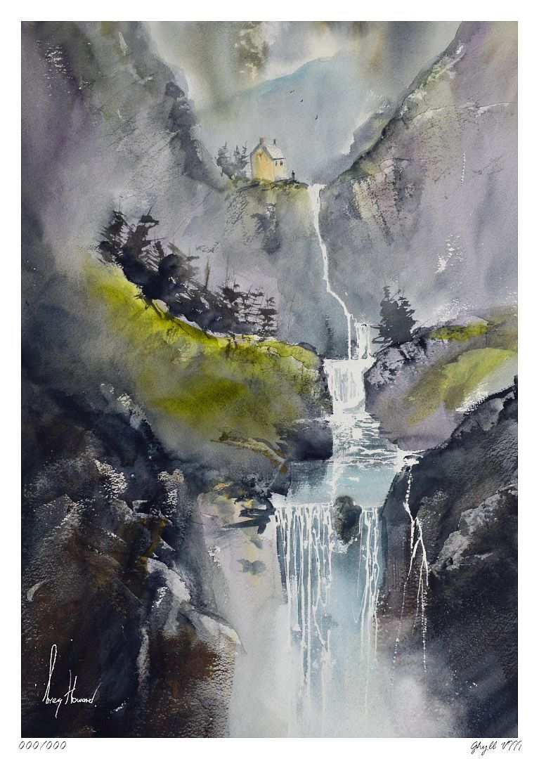 Limited Edition Print Ghyll VIII