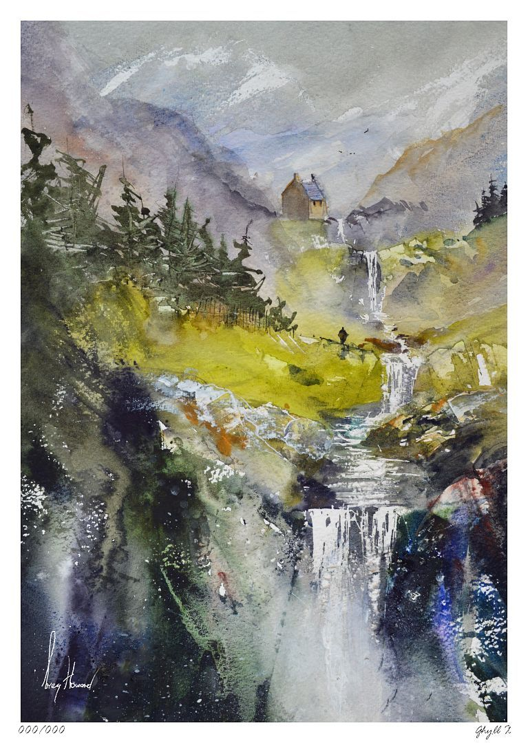 Limited Edition Print Ghyll X