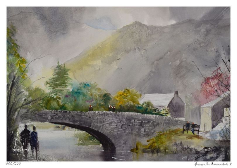 Limited Edition Print Grange In Borrowdale V