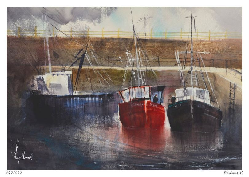 Limited Edition Print Harbours VI