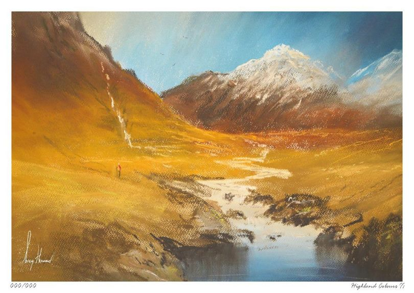 Limited Edition Print Highland Colours II