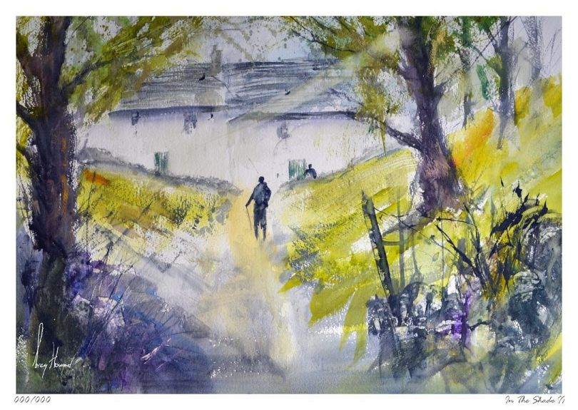 Limited Edition Print In The Shade II