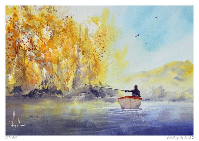 Limited Edition Print Landing The Catch II