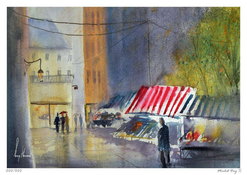 Limited Edition Print Market Day II