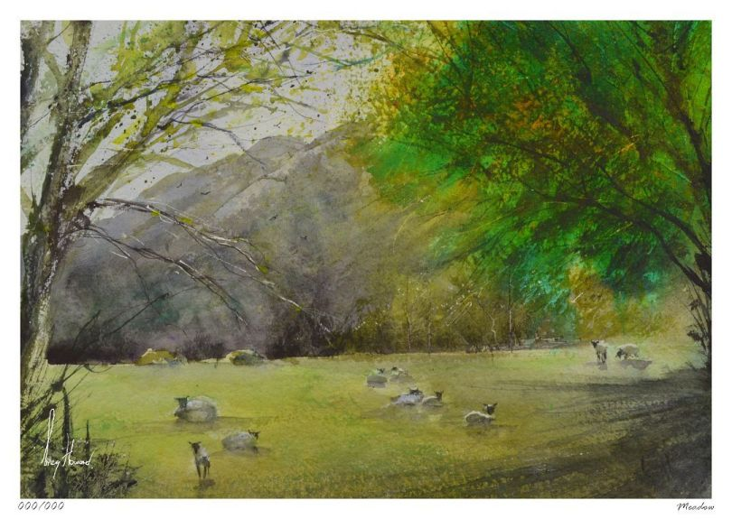 Limited Edition Print Meadow