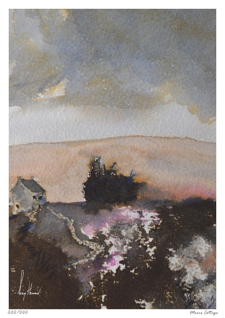 Limited Edition Print Moors Cottage