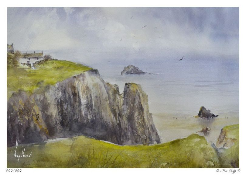Limited Edition Print On The Cliffs II