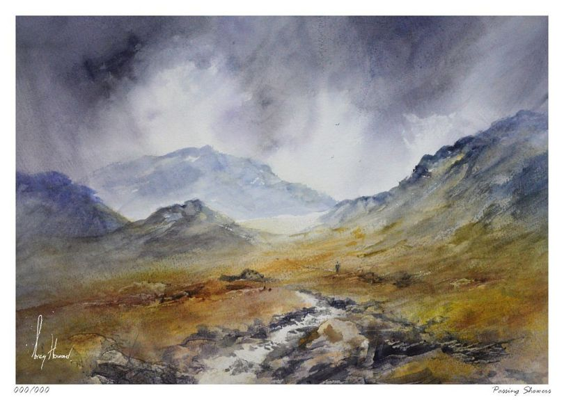 Limited Edition Print Passing Showers