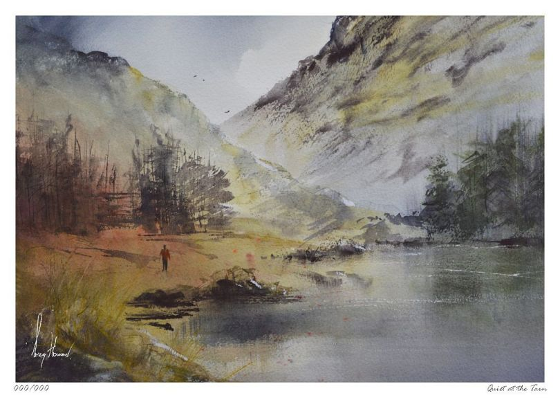 Limited Edition Print Quiet At The Tarn