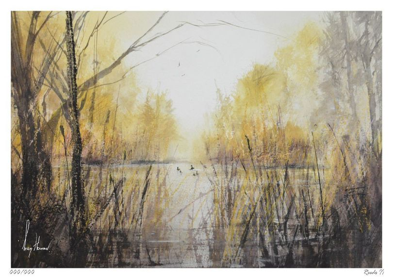 Limited Edition Print Reeds II