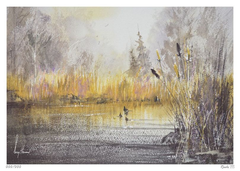 Limited Edition Print Reeds III